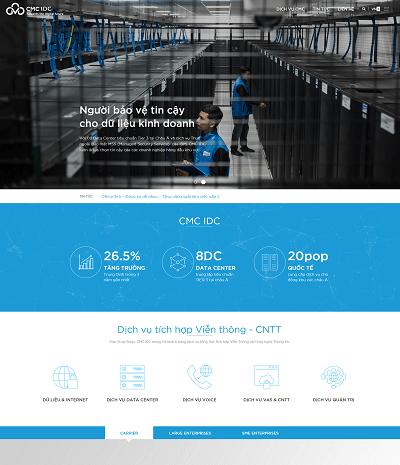 Web dịch vụ máy chủ VPS cmc