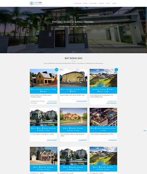 Mẫu web khách sạn
