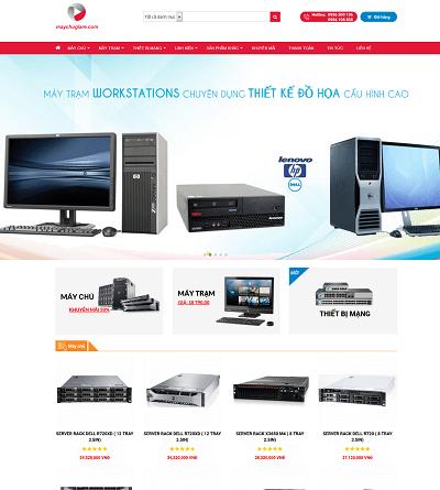 Web dịch vụ & bán hàng maychugiare
