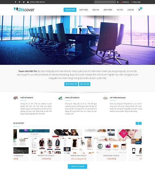 Web công ty liên kết trẻ