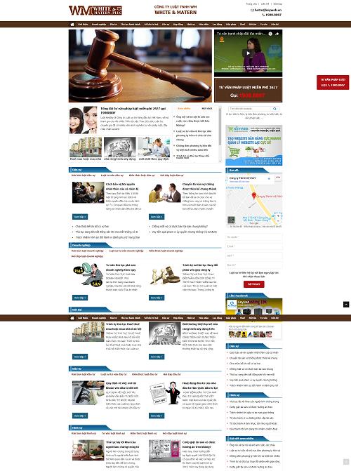 Web công ty tư vấn luật