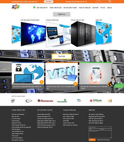 Web dịch vụ máy chủ VPS gofpt