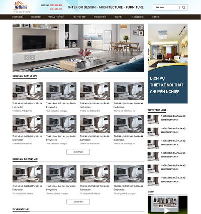 Web bán nội thất Smarthome