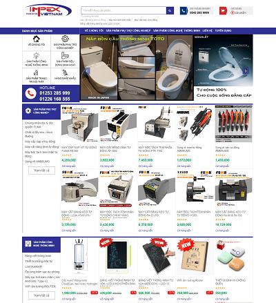 Web bán hàng Impex