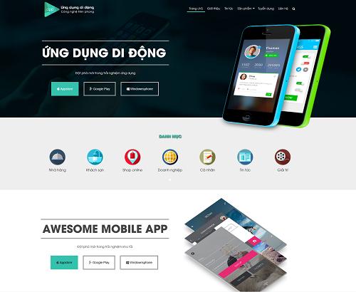 Web bán hàng điện thoại - appshop